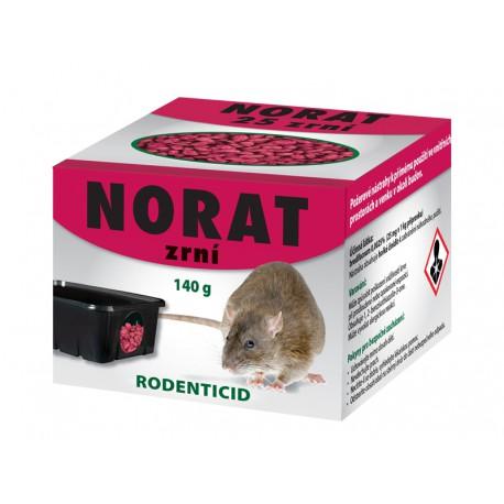 Jed na myši NORAT zrní