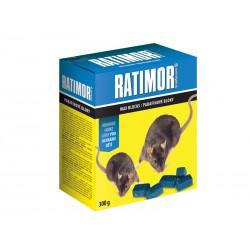 Parafinové bloky k hubení myší a potkanů Ratimor